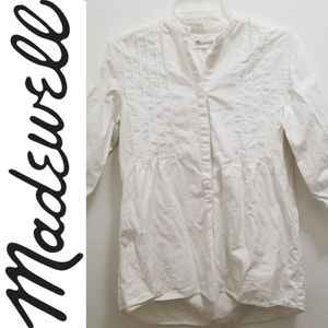 MADEWELL Off-White Tunic Top
